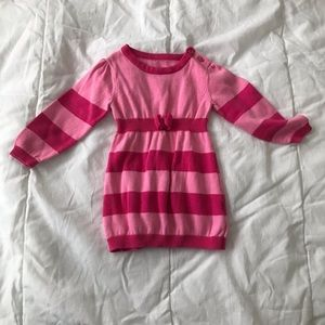 5/$25 GEORGE tunic top with stripes & bow